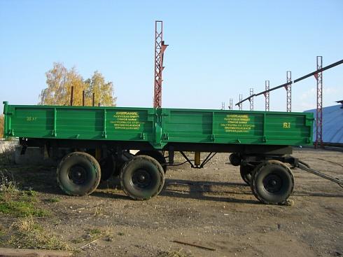 Прицеп тракторный 3-х осный