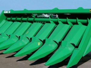 Жатка для уборки кукурузы КМС