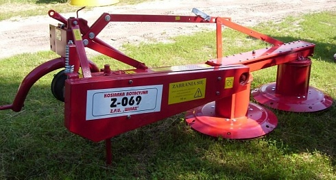 Косилка роторная Z-135, Z-165, Z-185