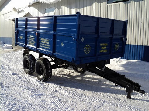 ППТС-6 на рессорной подвеске типа Тандем