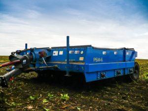 Машина ботвоудаляющая РБМ-6