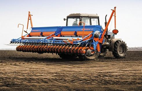 Сеялка зерновая (зернотуковая) РИТМ СЗ-6 (СЗТ-6)