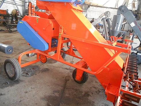 Зернометатель модернизированный самопередвижной ЗМС-170